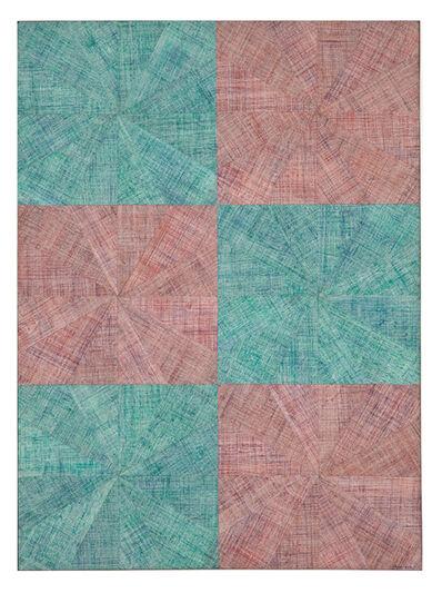 Mario Nigro, 'Spazio-vibrazione simmetrica alternata con urto', 1964