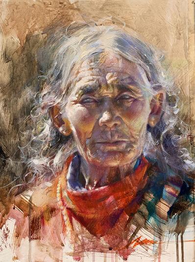 Jian Wu, 'Tibetan Red', 2021