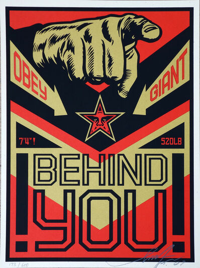 Shepard Fairey (OBEY), 'Behind You'