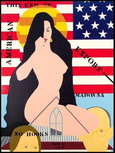 Allan D'Arcangelo, 'Export Madonna', 1980