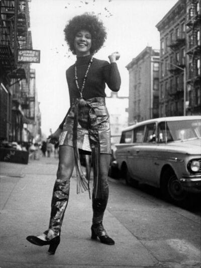 Bill Cunningham, 'Miss Betty Davis', 1969