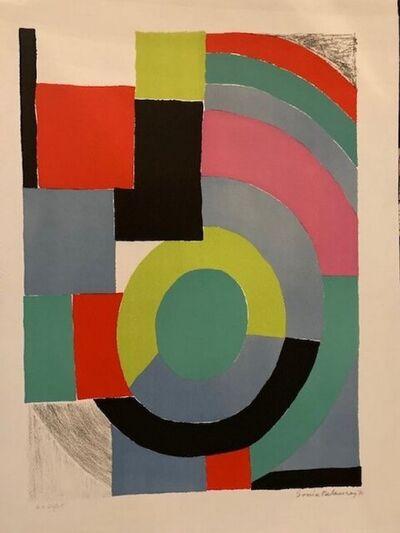 Sonia Delaunay, 'Composition ', 1970