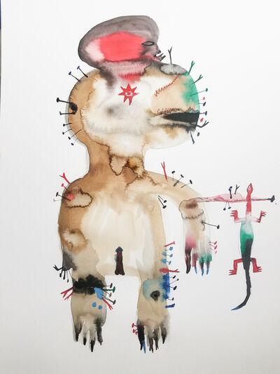Wole Lagunju, 'Power Figure III', ca. 2019