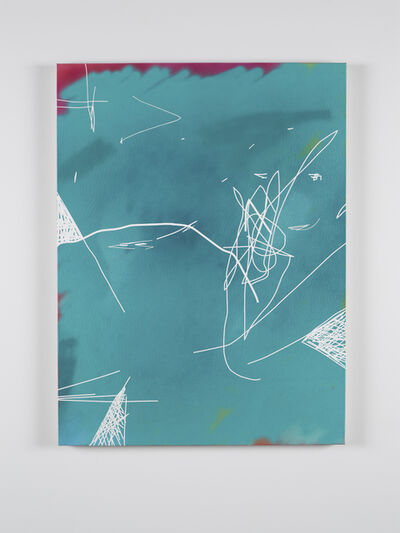 Jeff Elrod, 'Untitled (teal)', 2012