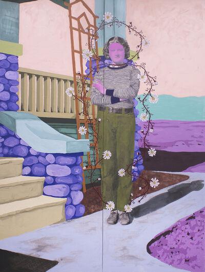 Daisy Patton, 'Untitled (Sunshine Quality Apr 10 1934 Never Fade)', 2017