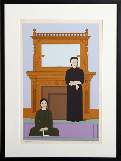 Will Barnet, 'Reflection', 1971