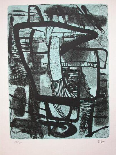 Maurice Estève, 'Grande Noir', 1965