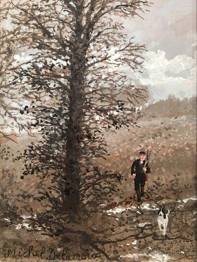 Michel Delacroix, 'Matin d'hiver a lvors', 2016