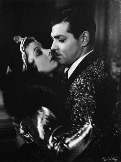 "Ted Allan, 'Myrna Loy and Clark Gable in ""Manhattan Melodrama""', 1934"