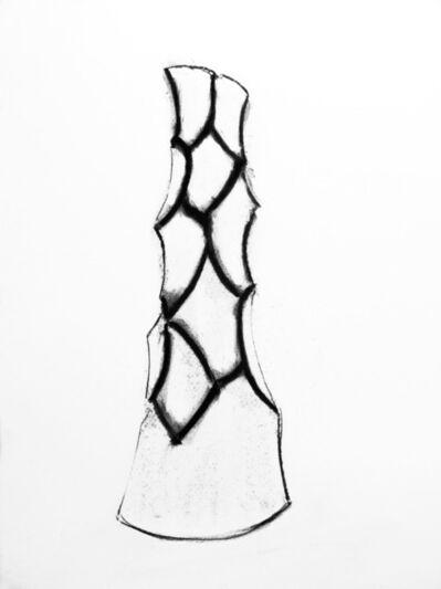David Nash, 'Cut Corner Column', 2003
