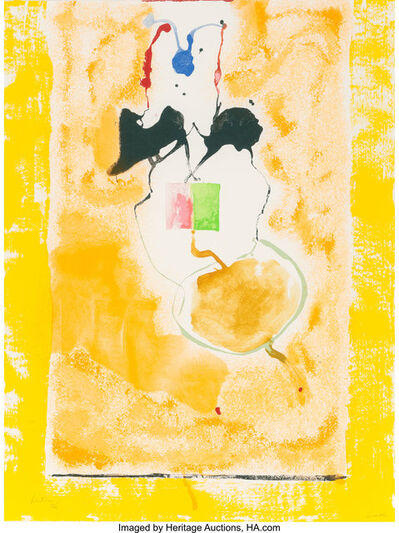 Helen Frankenthaler, 'Solar Imp.', 2001
