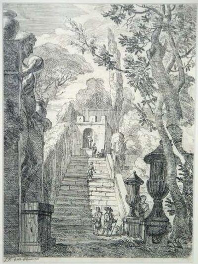 Jan Frans van Bloemen, called Orizzonte, 'Entrance to the Castle', ca. 1700