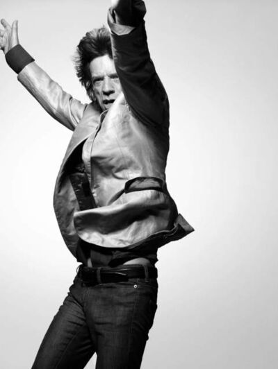 Bryan Guy Adams, 'Mick Jagger, In Motion New York', 2008