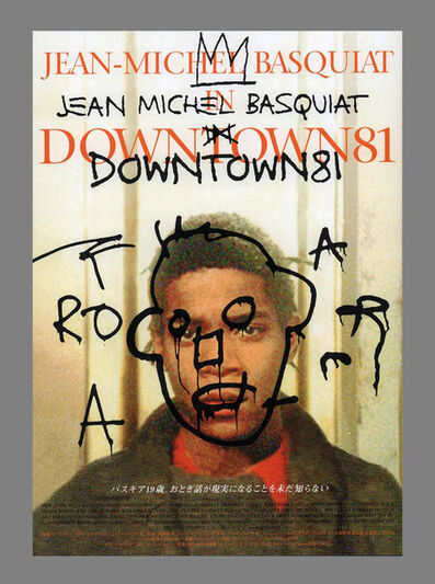 Jean-Michel Basquiat, 'Basquiat Downtown 81 Film Poster', ca. 2001