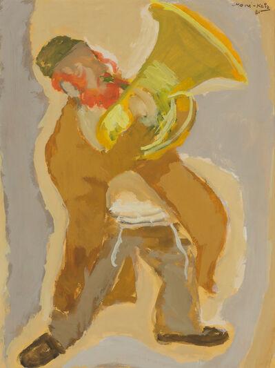 Mané-Katz, 'Musician', 1961