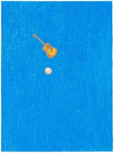 Michael Krueger, 'Blue Guitar', 2011