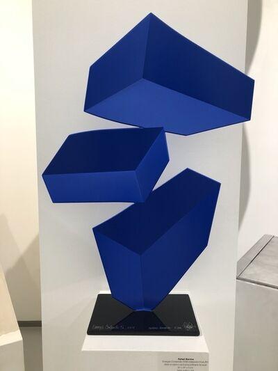 Rafael Barrios, 'Energia Contenida F239 - Iridescent blue', 2017