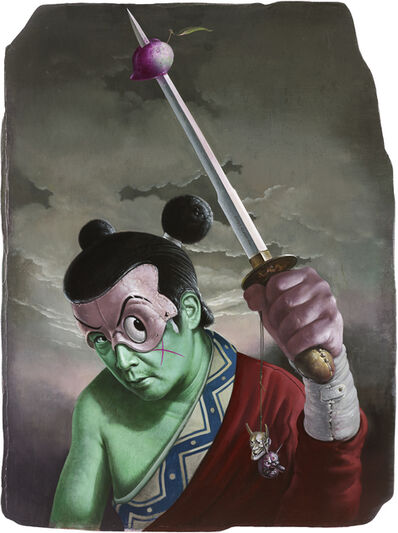 Kuo Wei-Kuo, 'WeiKuoSaburo Snatched the Sword', 2019