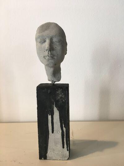Beatrice Bizot, 'Visage gris', 2017