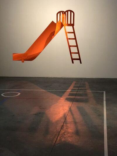 Oscar Figueroa, 'Red Slide', 2017