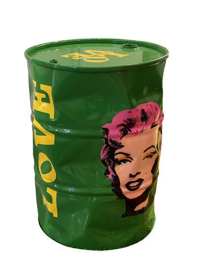 Efraim Mashiah, 'GreenLove Marilyn Barrel', 2020