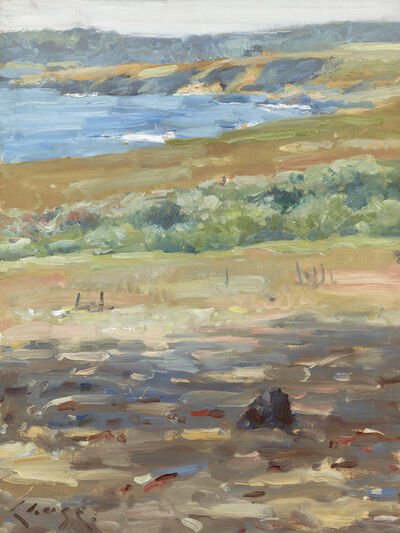 William Merritt Chase, 'Coastal Landscape, California (Carmel-by- the-Sea)', 1914