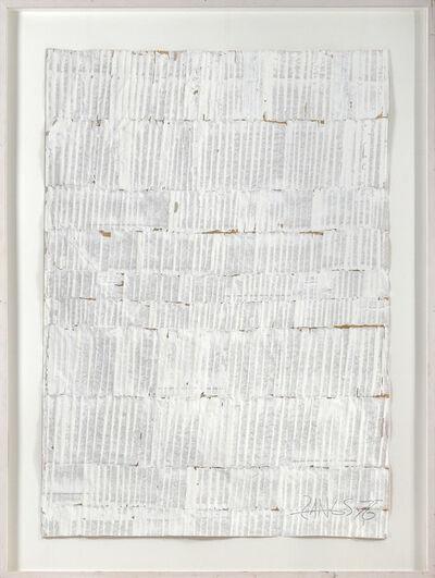 Herbert Zangs, ' Reihung 76', 1976