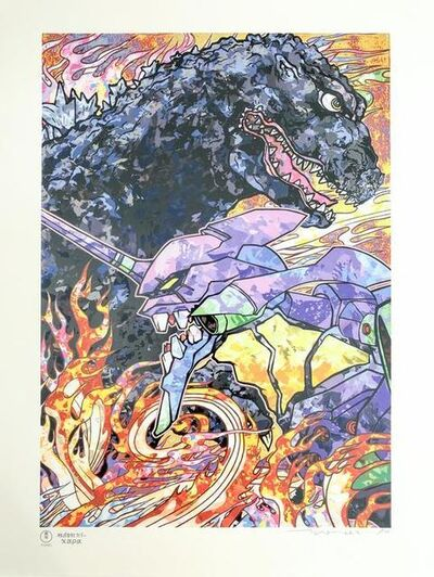 Takashi Murakami, 'Homage to director Hideaki Anno: Evangelion & Godzilla Resurgence ', 2019