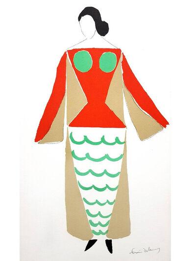 "Sonia Delaunay, 'Original Lithograph ""Le Cœur à gaz"" by Sonia Delaunay', 1977"