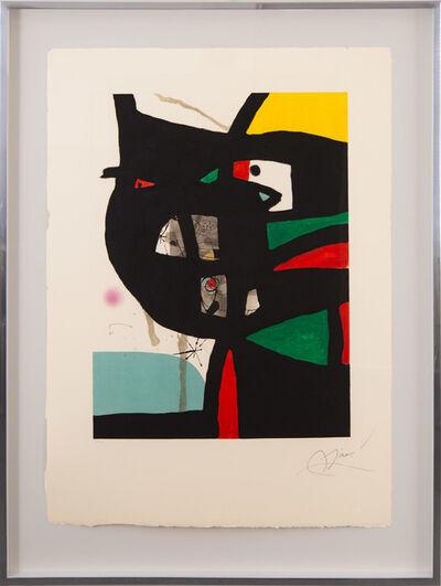 Joan Miró, 'Fundació Palma I', 1988