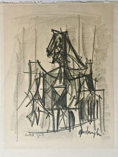 Robert Goodnough, 'Seated Girl', 1961