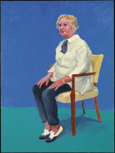 "David Hockney, '""Celia Birtwell, 31st August, 1st, 2nd September 2015"" from ""82  Portraits and 1 Still-Life""', 2015"