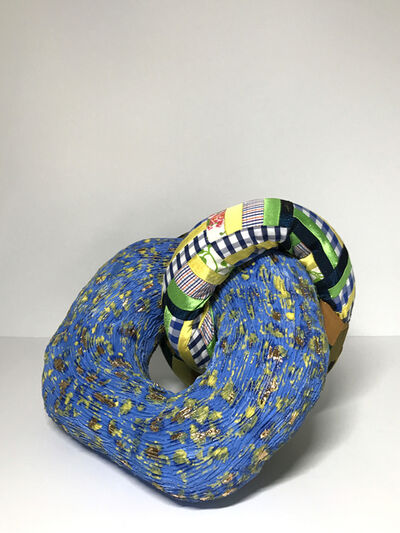 Ak Jansen, 'Ceramic and textile sculpture: 'No. 9'', 2020