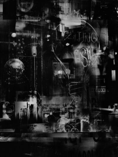 Valérie Belin, 'Lights On Lexington (Reflection)', 2019