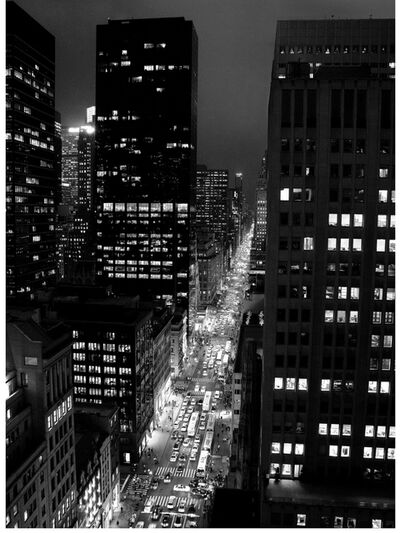Ken Sax, 'Peninsula Hotel Rush Hour, 5th Avenue', 2008