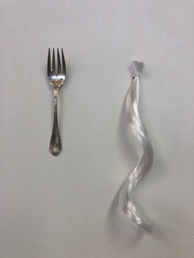 April Marten, 'A Fork and Tendril', 2019