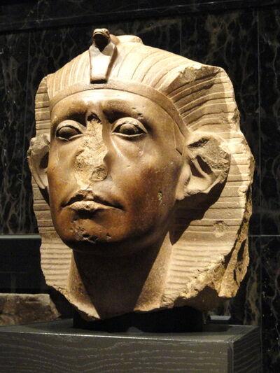 'Head of Senusret III', ca. 1938-1755 B.C.