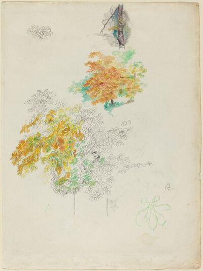 Pierre-Auguste Renoir, 'Studies of Trees', 1886