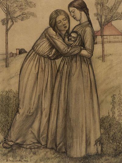 BERNARD MENINSKY, 'Two Women and Child', 1913