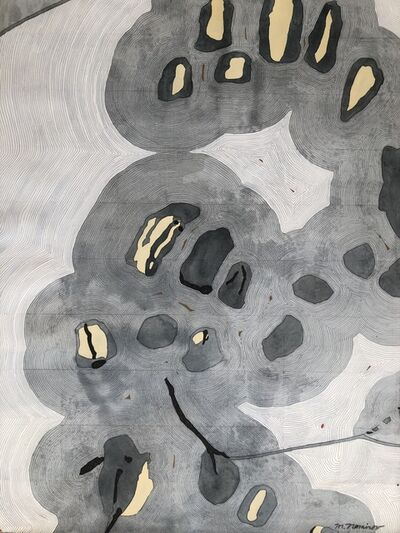 Meredith Nemirov, 'Gray Map', 2017