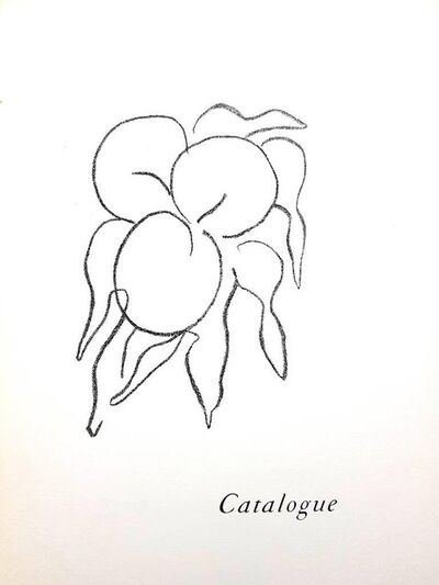 "Henri Matisse, 'Original Lithograph ""Fruits"" by Henri Matisse', 1964"