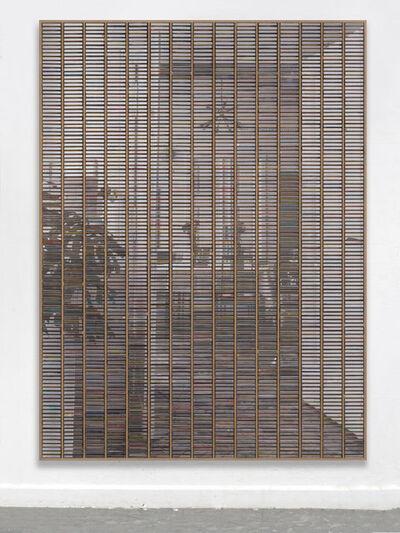 """Gregor Hildebrandt, '""""Blick ins Esszimmer vom Balkon – Zimmer aus""""', 2019"""