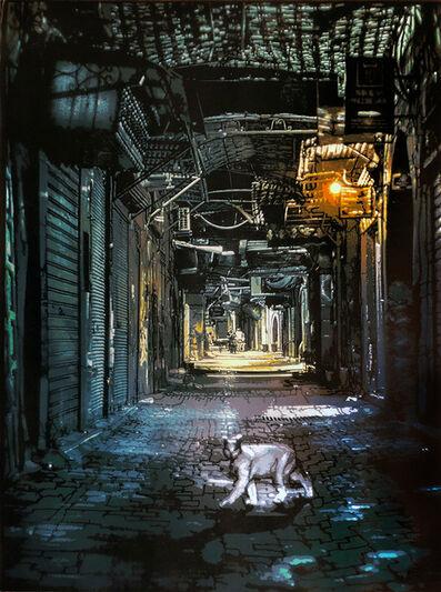 Logan Hicks, 'White Cat in Marrakesh', 2018