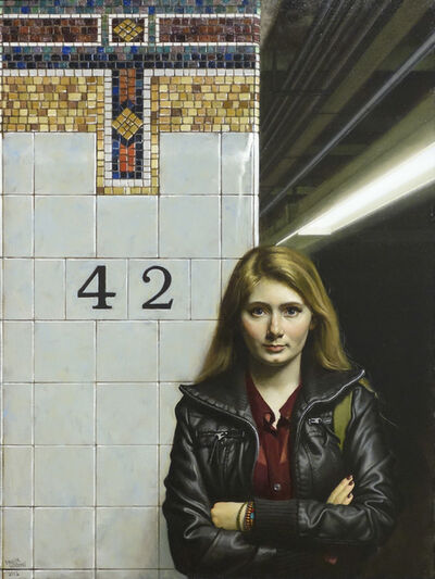 Daniel Greene, 'Young Girl - 42nd St.', 2012