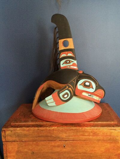 Don Lelooska Smith, 'Kwakiutl Chief's Whale Hat ', ca. 1992