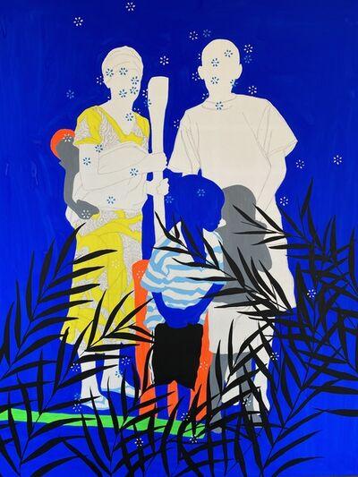 Moustapha Baïdi Oumarou, 'Famille parfaite', 2021