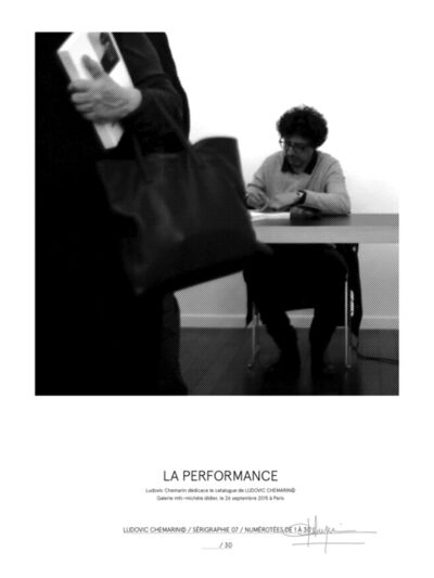 Ludovic Chemarin©, 'La Performance', 2017