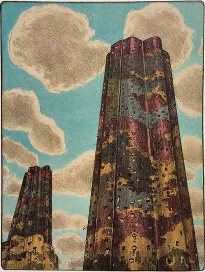 Jürg Kreienbühl, 'Les tours Aillaud', 1992