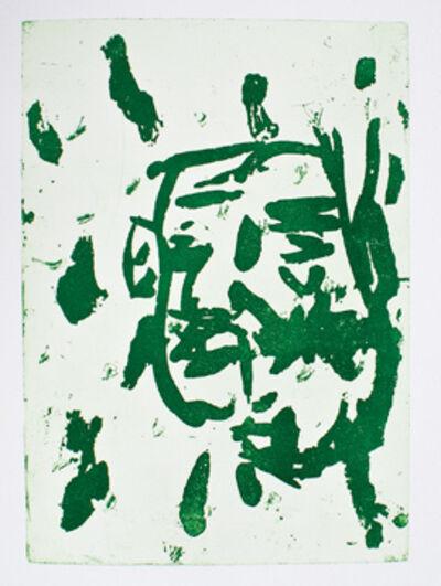 Georg Baselitz, 'Winter', San Francisco: Limestone Press-1992.