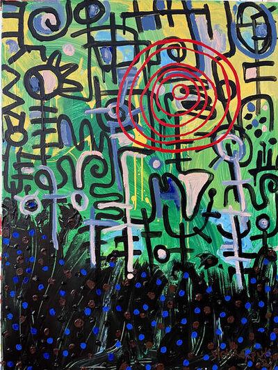 Victor Ekpuk, 'Untitled (Composition)', 2021